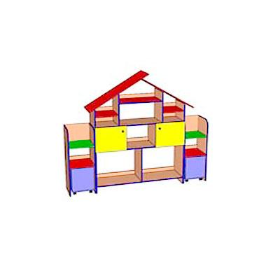 Модульная группа Теремок203 для детского сада - производитель Айрон