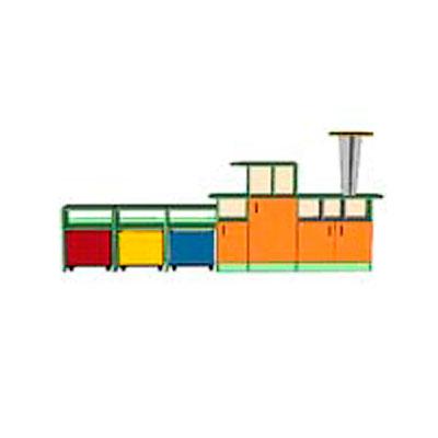 Модульная группа Паравозик для детского сада - производитель Айрон