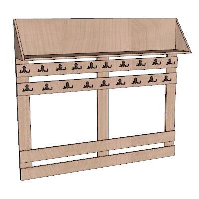Школьная мебель для гардеробных