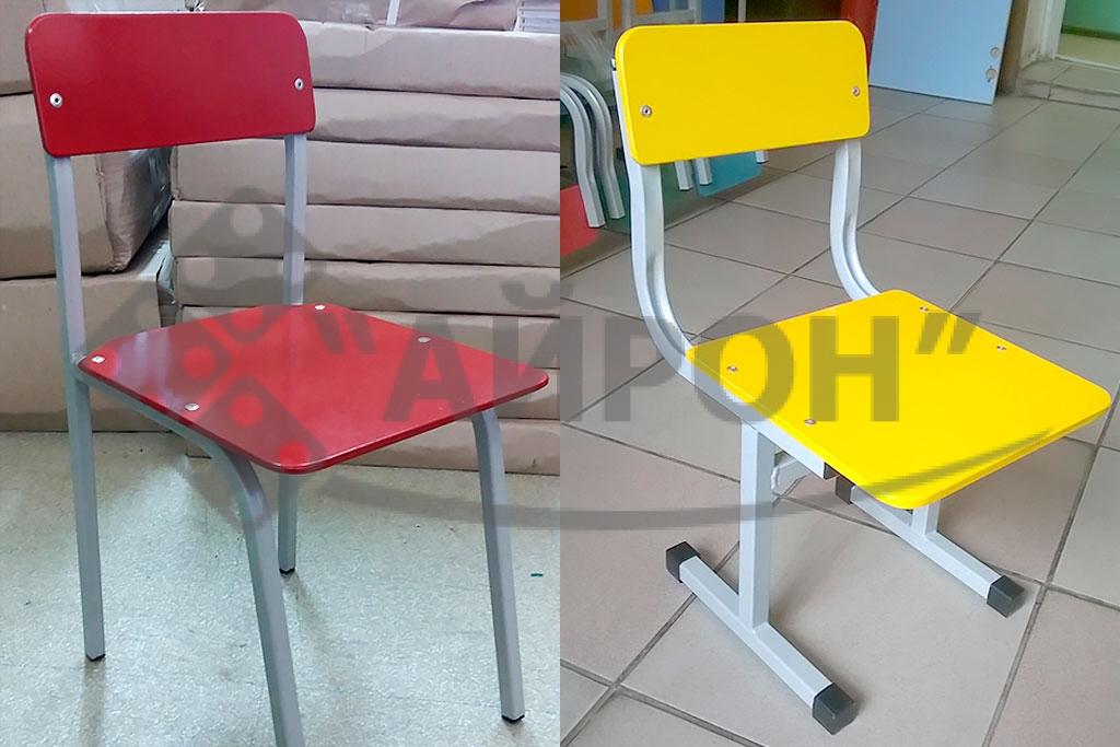 Детские стульчики - мебель для детских садов