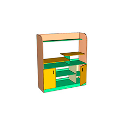 Шкафы для детского сада - производитель Айрон