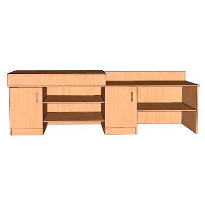 Столы для кабинетов физики и химии