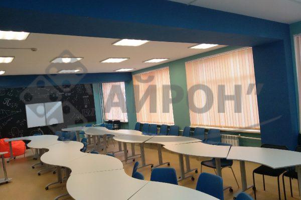 Школа РОСАТОМА оснащение класса - Мебель Айрон